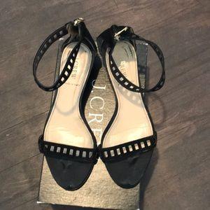 Jcrew suede sandals